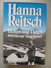 Hanna Reitsch Höhen und Tiefen 1945 bis zur Gegenwart 1978 Fliegerin Luftfahrt