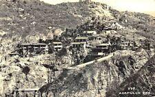 Acapulco GRO. Mexico Hillside Housing #770 Real Photo Postcard