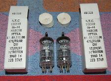 M.P. ECC189 6ES8 CV5331 PHILIPS BETTER THAN E88CC SQ E188CC 6N23P CCa AUDIO NOTE