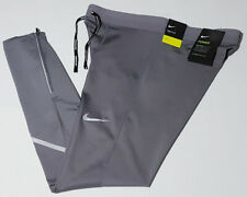 $80 Nike Men's Large Power Tech Mobility Running Tights Grey AJ8000-056