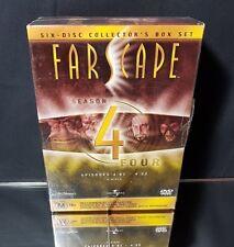 Farscape Season 4 Episodes 4.01 - 4.22 - 6 Disc Box Set DVD Video NEW/Sealed