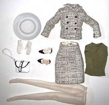 New ListingIntegrity Toys Fashion Royalty Poppy Parker Tweed Suit With White Hat & Acces Nr