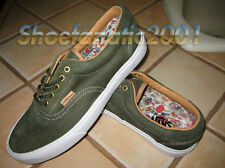Vans ERA 59 Ca Denim Suede Forest Night Green Mushroom Skateboarding Supreme 9