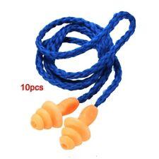 10X Tappi Per Le Orecchie Con Cavo Ear Plug Antirumore Protezione Viaggio U5F8