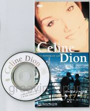 "CELINE DION The Power Of Love JAPAN 3"" CD SINGLE ESDA7167 Unsnapped Free S&H/P&P"