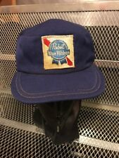 PABST BLUE RIBBON PBR MILWAUKEE BEER VINTAGE 50s 60s Delivery Work HAT