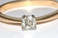 Diamond 9 Carat Yellow Gold Ring Art Deco Fine Jewellery
