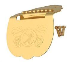Saitenhalter für Mandola, Mandoline, gold, Messing