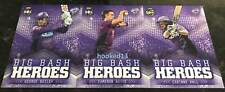2017 Hobart Hurricanes BBL WBBL Big Bash Heroes SUBSET team set 3 Card Lot