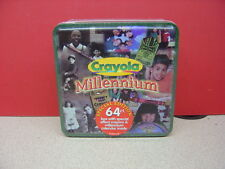 1999 Crayola Millennium 64 Count Set with Metal Container Still in Package!
