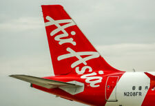 """Air Asia Tail Logo Fridge Magnet 3.25""""x2.25"""" Collectibles (PMCT4026)"""