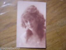 carte postale ancienne CPA Postcard FEMME REGARD TRISTE