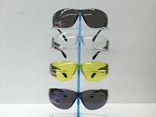 Wrap Style Safety Glasses 4 Different Lens Colours UV 400 AS/NZS Certified