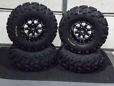 "27"" BEAR CLAW ATV TIRE & STI HD4 WHEEL KIT LIFETIME WARRANTY COMPLETE IRSL8"