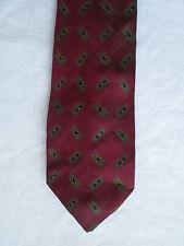 AUTHENTIQUE cravate  HUGO BOSS   100% soie  TBEG  vintage