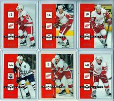 2005-06 Hot Prospects Red Hot #37 Nicklas Lidstrom /100 SET BREAK
