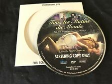 TOUS LES MATINS DU MONDE—2006 PROMO DVD—ALL THE MORNINGS OF THE WORLD