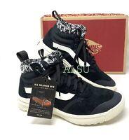 VANS UltraRange MTE Woven Black Suede Women Sneakers Boots VN0A4BU5TYI