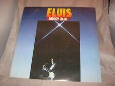 Elvis Presley Moody Blue LP USED AFL1-2428 Blue Vinyl[INV13]