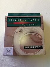 *50% OFF* Royal Wulff Triangle Taper Spey Fly Line 11 Weight Intermediate 80 Ft