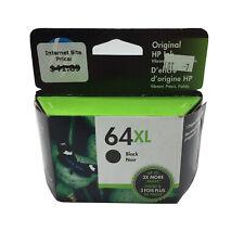 NEW Genuine HP 64XL Black Ink Cartridge N9J92AN High Yield OEM Exp. 2020 2021