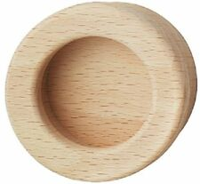 Häfele Möbelgriff Holz Einlassmuschel 160x50mm Nussbaum H1857 Muschelgriff