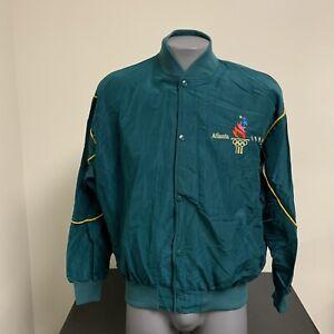 VTG 1996 Atlanta Summer Olympics Games Lightweight Starter Jacket Mens XL