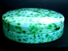 Loetz Art Nouveau Glass ° Covered Dish ° Candy Box ° Bohemia
