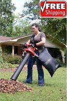 Craftsman Leaf Blower Vac 2 Speed 12 AMP Lawn Yard Vacuum Mulcher with Bag Kit