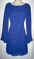 WOMENS DRESS SIZE SMALL JENNIFER LOPEZ ROYAL BLUE NEWw/TAGS RETAIL $64