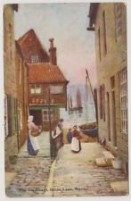 Yorkshire (North) postcard - The Tin Ghaut, Whitby (William Tillizac) - P/U 1906