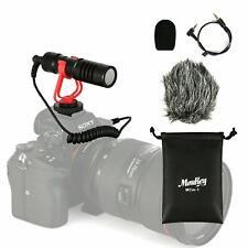 Video Camera Microphone Vlogging Digital Cam Mic Universal