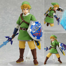 The Legend of Zelda Skyward Sword Link Figure Figma 153 Collection Toy in Box