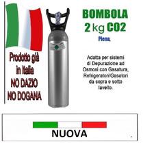 BOMBOLA ALLUMINIO KG.2 E290 BOMBOLA CO2 2KG NUOVA