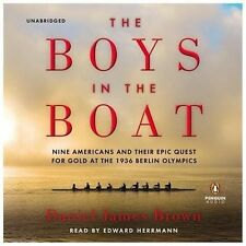 THE BOYS IN THE BOAT Daniel James Brown UNABRIDGED Audio Book CD New SEALED