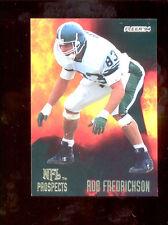 1994 Fleer ROB FREDRICKSON Oakland Raiders NFL Prospects Rookie Insert Card