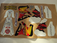 1995-97 HONDA CR125 250 JEREMY MCGRATH REPLICA GRAPHICS KIT