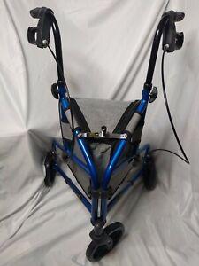 Vive Mobility 3 Wheel Rollator Walker - Lightweight And Foldable For Seniors