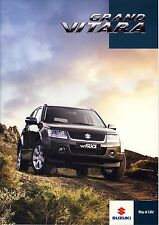 Suzuki Grand Vitara 01 / 2010 brochure catalogue polonais rare