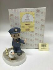 """Precious Moments Figurine """"Lord, Police Protect Us"""" #539953"""
