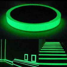 10m Luminous Photoluminescent Tape Glow In The Dark Sticker Decor Decal Unique