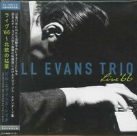 BILL EVANS TRIO-LIVE'66-JAPAN MINI LP MQA-CD Ltd/Ed G88