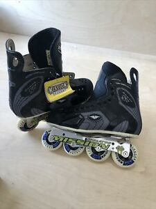 MISSION VIOLATOR PROTO SV 4.3 HI LO ROLLER HOCKEY IN LINE SKATES 11D. With Tags