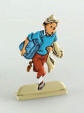 Figurine métal Tintin Tintin dans Coke en stock (bas relief)