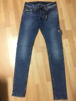 MEN Diesel SLEENKER Stretch Denim 084UU BLUE EX Slim W30 L32 H6 RRP£150