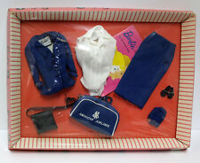 Vintage Barbie Flight Stewardess Fashion #984 nrfb with booklet & sticker