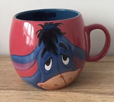 DISNEY WINNIE THE POOH - EEYORE - Stoneware Barrel Mug - Cup - EXCELLENT