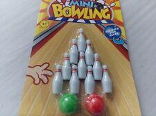 12er Set Bowlingspiel Minibowling Bowling Fans Bowler Kleines Bowlingspiel
