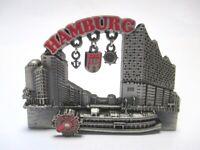 Hamburg Metall Magnet Charms Elbphilharmonie Raddampfer Hafen