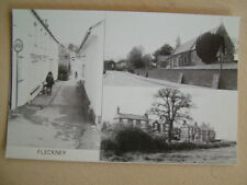 B&W Postcard - FLECKNEY. Unused. Standard size.